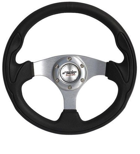 ECO-LEATHER STEERING WHEEL INTERLAGOS