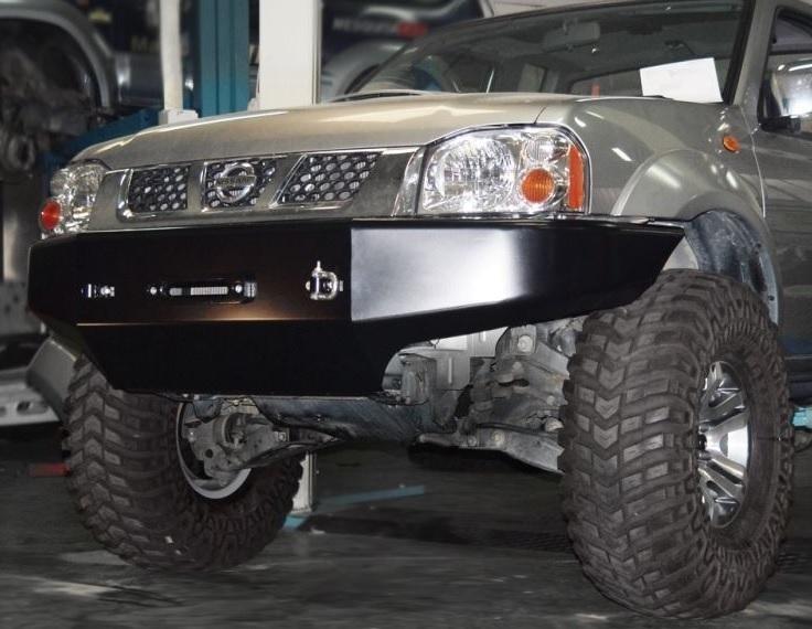 Afn Front Winch Bumper Nissan Navara D22 Www Ramingo4x4 It