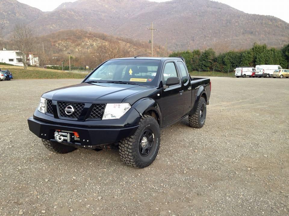 Afn Front Winch Bumper Nissan Navara D40 Pathfinder R51