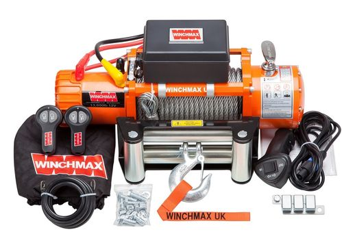 WINCHMAX - CLASSIC 13500 WIRE ROPE ELECTRIC WINCH -12V