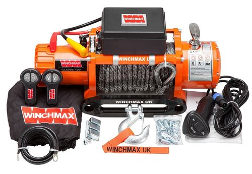 WINCHMAX -  CLASSIC13500 DYNEEMA ROPE ELECTRIC WINCH -12V