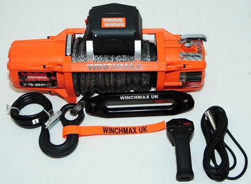 WINCHMAX - NEW SL 13000 DYNEEMA ROPE ELECTRIC WINCH -24V