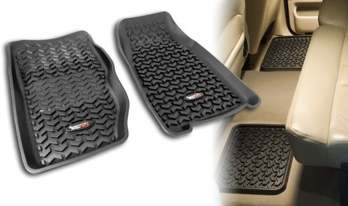 RUGGED RIDGE - FLOOR LINERS JEEP CHEROKEE XJ