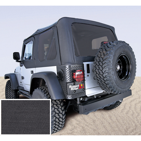 RUGGED RIDGE   SOFT TOP JEEP WRANGLER TJ 97 02 *** DIFFERENT COLORS