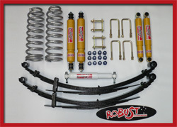 ROBUST - ASSETTO COMPLETO TOYOTA LAND CRUISER 78 +5 CM