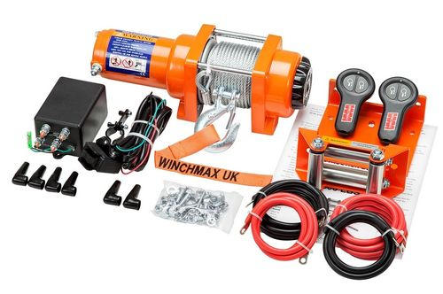 WINCHMAX - 3000 STEEL ROPE ELECTRIC WINCH - 12V