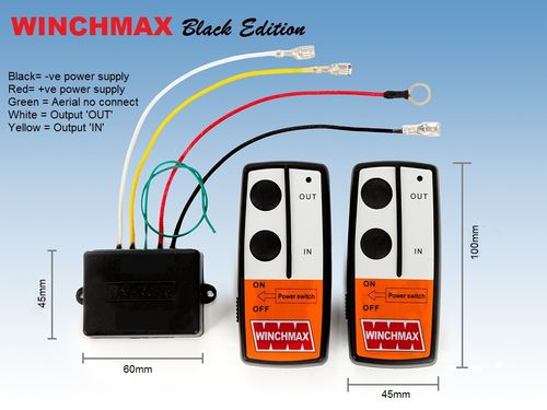 WINCHMAX - WIRELESS REMOTE CONTROL KIT 24V
