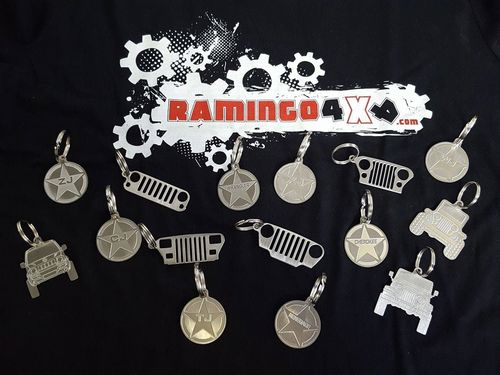 RAMINGO 4X4 - KEY RINGS 4X4 VEHICLES