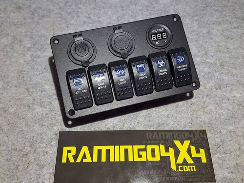 RAMINGO 4X4 - LIGHTS PANEL