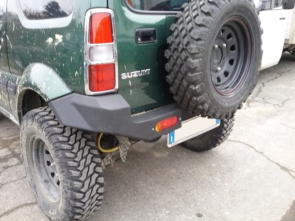 Heavy Duty Steel Rear Bumper Suzuki Jimny Www