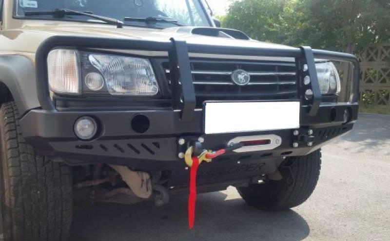 Heavy Duty Front Winch Bumper Bullbar Hyundai Galloper