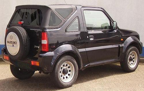 soft top suzuki jimny capotte 2 pezzi classic. Black Bedroom Furniture Sets. Home Design Ideas