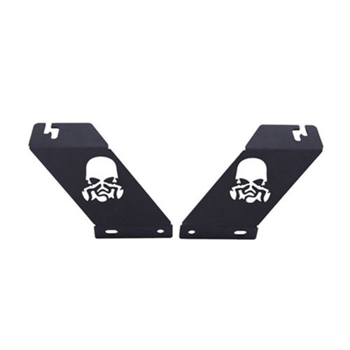 jk- COPPIA STAFFE BARRA LED SKULL