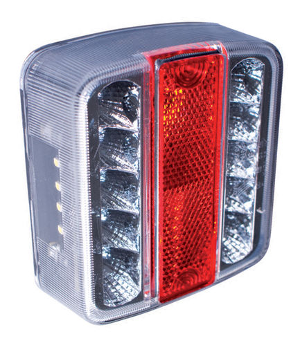 RING - UNIVERSAL LED TAIL LIGHT - PAIR - SQUARE