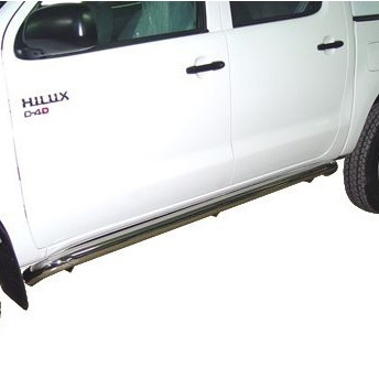 AFN -  BLACK SIDE STEPS TOYOTA HILUX VIGO 2011-