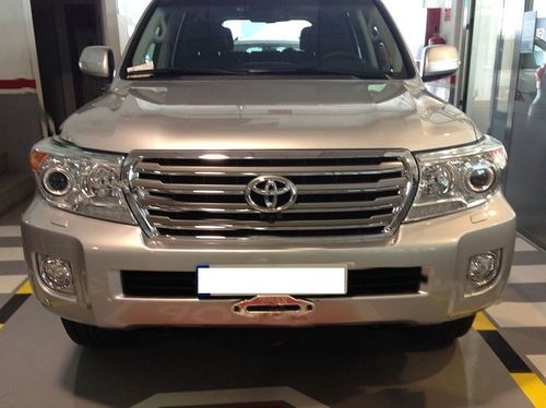 AFN - WINCH MOUNT TOYOTA LAND CRUISER 200 FROM 2012