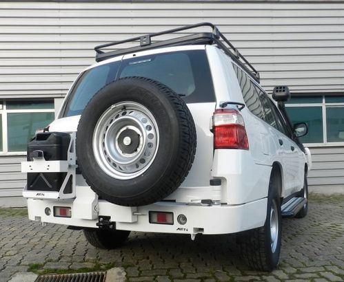 AFN - REAR BUMPER TYRE CARRIER AND JERRY CAN LAND CRUISER 200