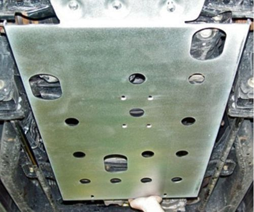 AFN - ZN CARTER AND DIFFERENTIAL SKID PLATE NISSAN NAVARA D22
