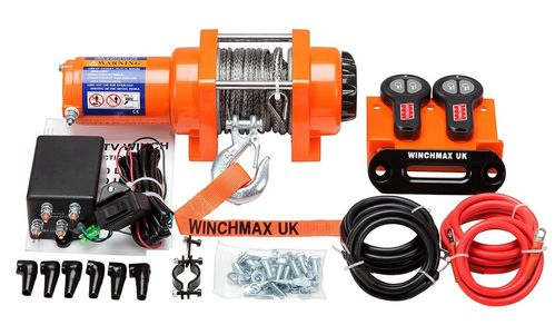 WINCHMAX - 3000 DYNEEMA ROPE ELECTRIC WINCH - 12V