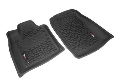 RUGGED RIDGE - TAPPETINI GOMMA ANTERIORI JEEP GRAND CHEROKEE WH/WK