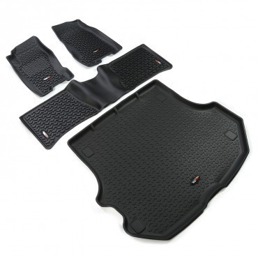 RUGGED RIDGE - KIT COMPLETO TAPPETINI GOMMA JEEP GRAND CHEROKEE WJ/WG