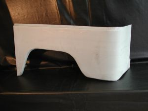 BODY REPAIR - REAR FENDER PANEL TOYOTA BJ40 - LEFT