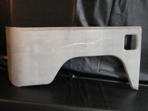 BODY REPAIR - REAR FENDER PANEL TOYOTA BJ40 - RIGHT