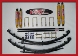 ROBUST - COMPLETE LIFT KIT TOYOTA HILUX 01-05 +5 CM