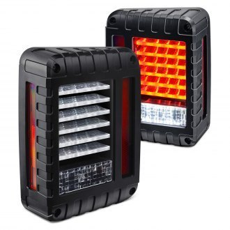 jk- FARI POSTERIORI LED DRAGON JEEP WRANGLER JK