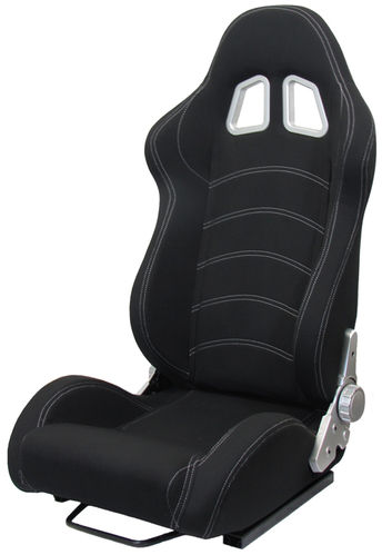 RACING SEATS BLACK/WHITE