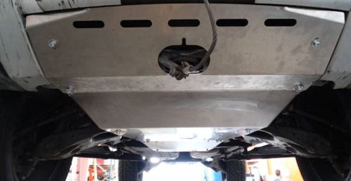 HEAVY DUTY - ALUMINUM ENGINE SKID PLATE DISCOVERY III