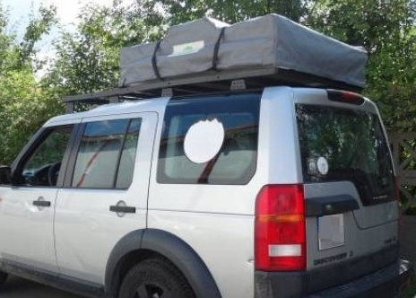 HEAVY DUTY - ROOF RACK WITH NETTING DISCOVERY III