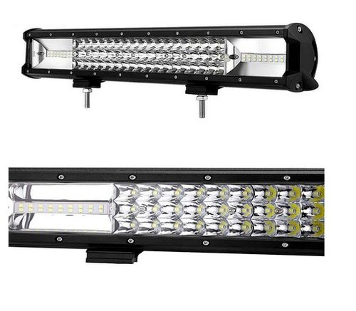 "LED BAR 15"" - 108W - 3 RAWS"