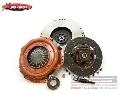 SOLID FLYWHEEL + REINFORCED CLUTCH KIT NISSAN PATROL GR 3.0