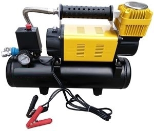 HEAVY DUTY AIR COMPRESSOR WITH 8 LT TANK