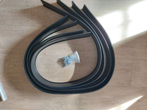 UNIVERSAL FLEX RUBBER FLARES 25 MM