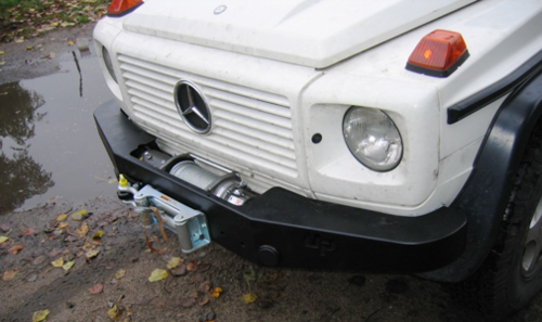 HEAVY DUTY - WINCH BUMPER MERCEDES G CLASS